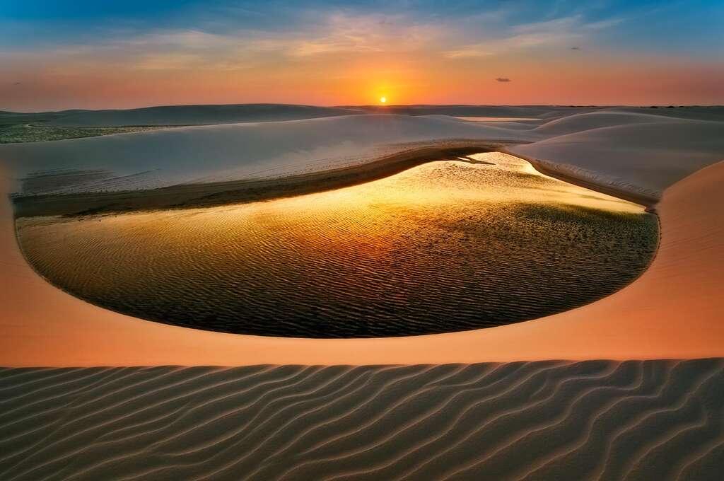 La mer de sable irréelle du Cerrado