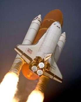 Les deux boosters solides de la navette américaine © NASA