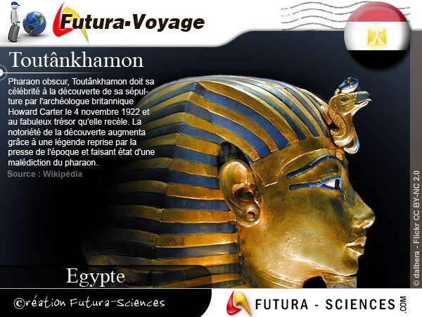 Toutânkhamon pharaon fils d'Akhénaton