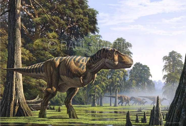 Tyrannosaurus rex, le plus célèbre des Tyrannosaures