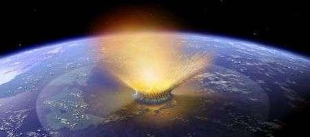 L'astéroïde tueur en flagrant délit.