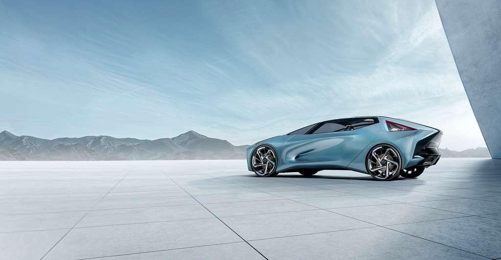 Le concept 100 % électrique LF-30 de Lexus. © Lexus