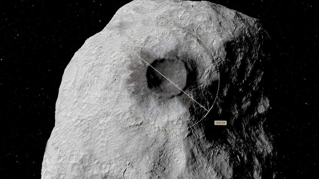 La caractérisation de l'impact de Dart et la mesure de l'orbite de Didymoon sont les principaux objectifs de la sonde Hera, de l'Agence spatiale européenne (ESA). © ESA, Science Office