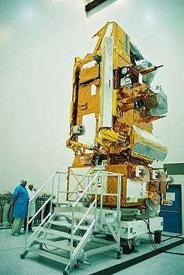 MetOp-1 est arrivé en avril 2006 au cosmodrome de Baïkonour