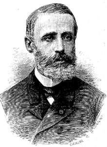 Gaston Planté (1834-1889), physicien, inventeur de l'accumulateur, mais aussi découvreur des premiers restes de l'oiseau géant Gastornis, à Meudon en 1855. © DR