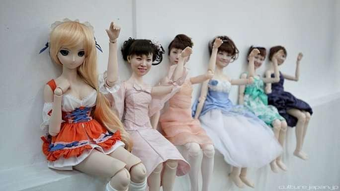 L'impression 3D pour fabriquer des modèles personnalisés de poupées comme le propose CloneFactory au Japon, photographiés par Danny Choo. © Clone Factory, Danny Choo