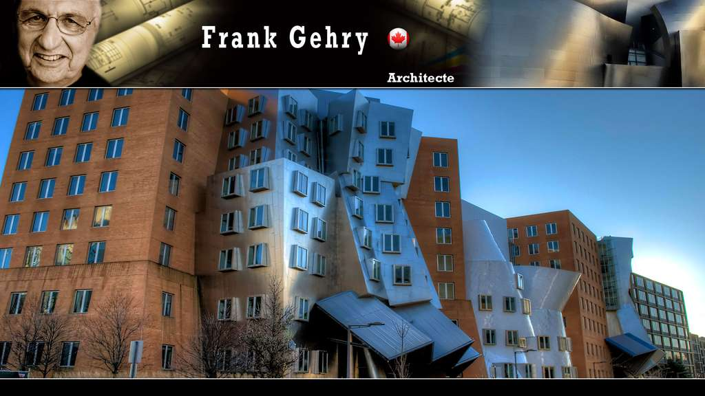 Le Ray and Maria Stata Center du MIT, par Frank Gehry
