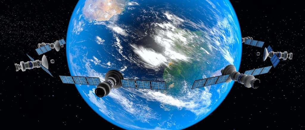 Le système exploite l'effet Doppler, qui permet de déterminer la vitesse du satellite par rapport à l'utilisateur. © rtype, Adobe Stock