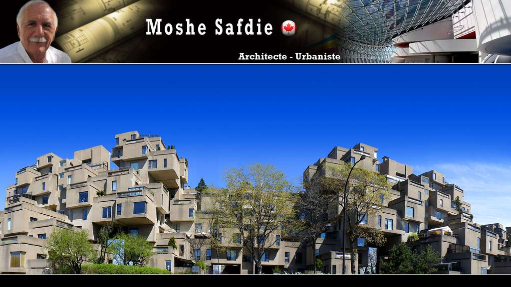 Habitat 67 à Montréal, au Canada, par Moshe Safdie
