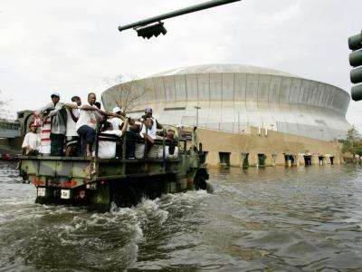 La Nouvelle-Orléans sous les eaux