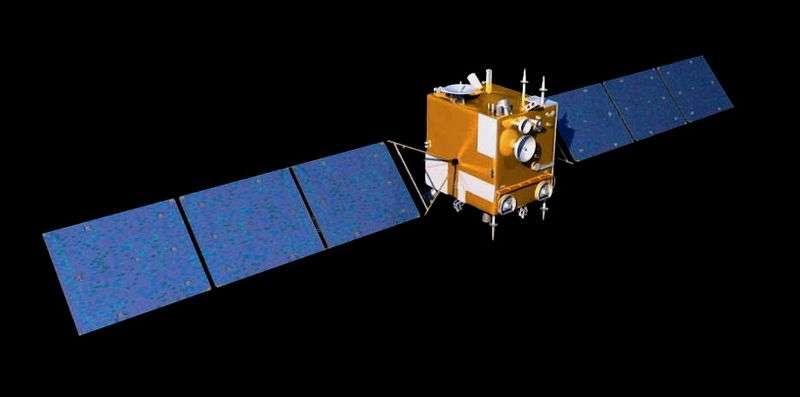 La sonde chinoise Chang'e 2 a démontré un savoir-faire remarquable. Lancée en octobre 2010 et mise en orbite autour de la Lune, elle en a cartographié la surface avec une grande précision pour préparer l'atterrissage de Chang'e 3, en 2013. En 2011, désorbitée, Chang'e 2 est partie vers le point de Lagrange L2 du système Terre-Soleil puis, une fois cette deuxième mission réussie, a pris la route pour un rendez-vous avec l'astéroïde Toutatis, en décembre 2012. © Domaine public