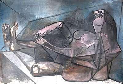 Grand nu couché de Pablo Picasso.