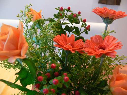 Offrir des fleurs, c'est provoquer de la joie. © Detsugu, Flickr, CC by-nc-sa 2.0
