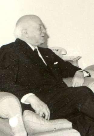 Henri Coanda vers la fin de sa vie. © National Archives of Romania and Institute for the Investigation of Communist Crimes in Romania