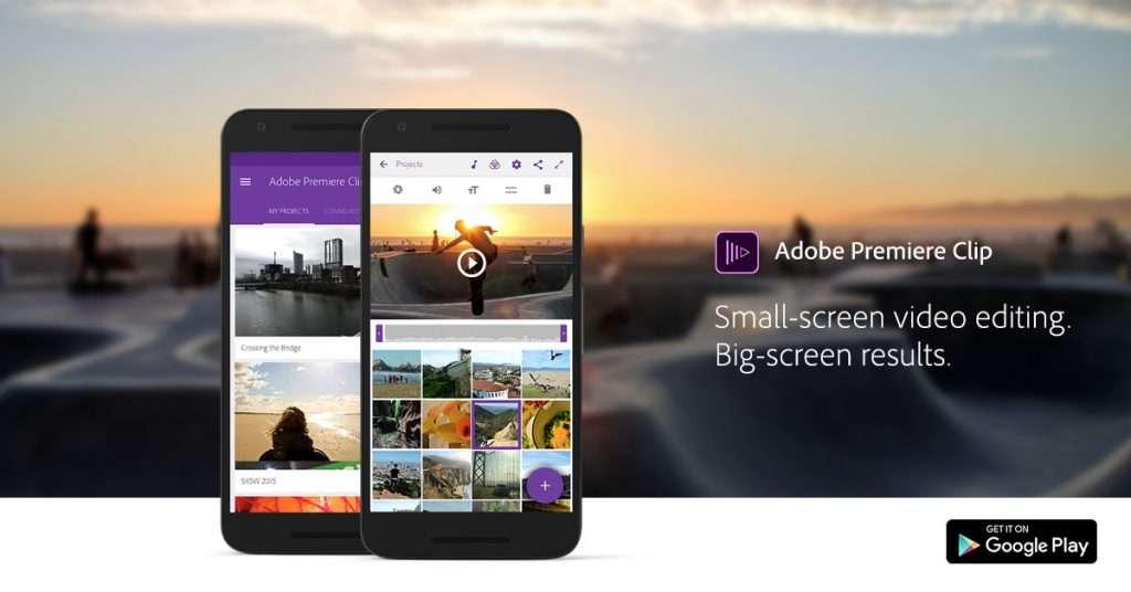 Adobe propose une application gratuite et compatible avec Adobe Premiere Pro CC sur ordinateur.