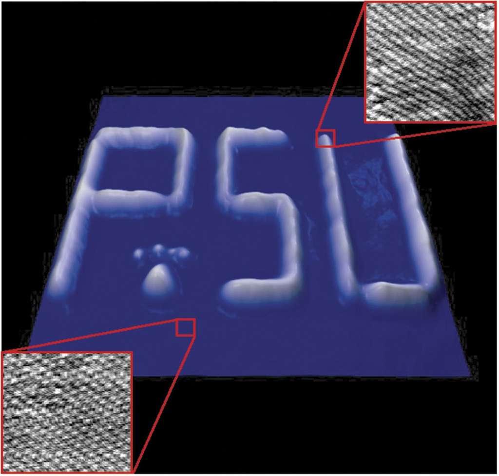 La nanographie, une écriture invisible