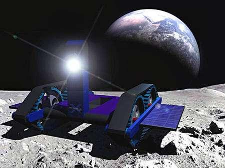 Le projet d'Independence-X Aerospace. Crédit Google Lunar X Prize