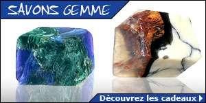 Gagnez des savons originaux : Albatre oriental, Lapis Lazuli, Jade, Opale de feu, Turquoise, Marbre et Malachite