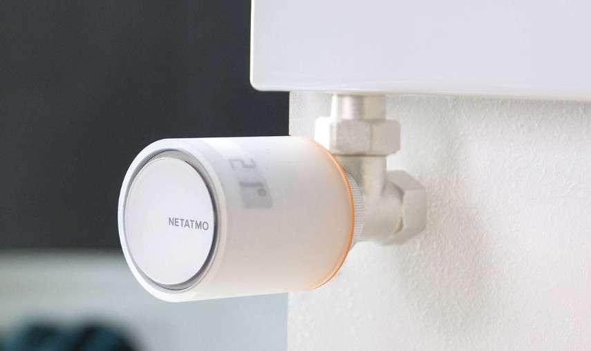 Les vannes connectées pour radiateurs de Netatmo sont dès à présent disponibles. © Netatmo