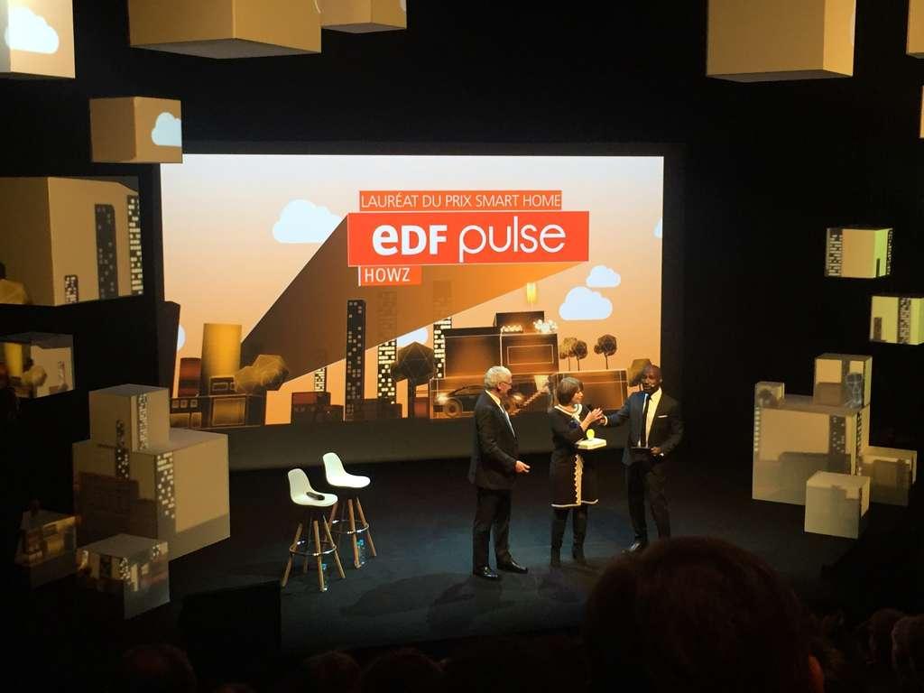 Howz a remporté le prix EDF Pulse. Cet outil permet de rester en contact avec une personne âgée seule chez elle, ce qui facilite le maintien à domicile. © EDF Pulse