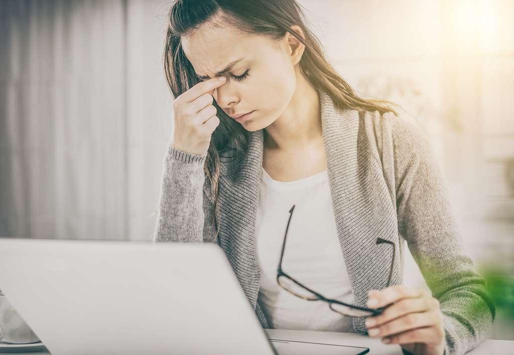 Le syndrome de fatigue chronique est invalidant et peut conduire à une dépression s'il n'est pas diagnostiqué et géré. © Redpixel, Fotolia