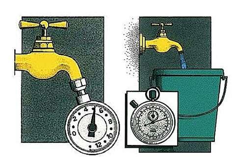 Le débit disponible se mesure en mètres cubes par heure. © sadimato.com