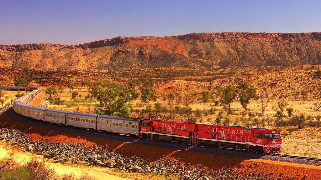 Le Ghan pour traverser l'Australie de haut en bas