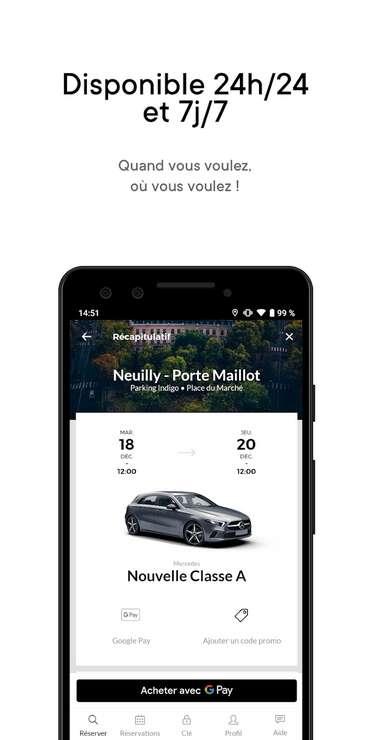 Virtuo propose de louer une voiture sans avoir à passer par une agence traditionnelle. © Virtuo