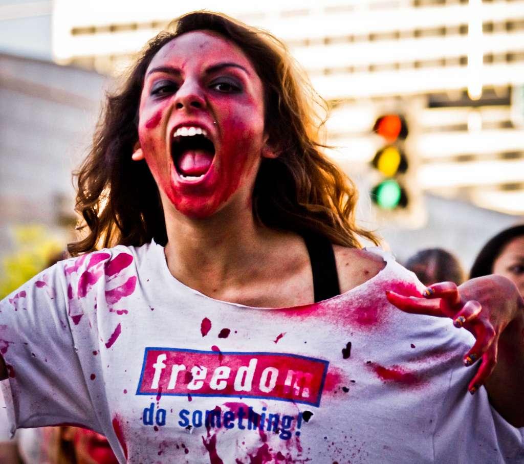Le rouge est la couleur de la colère et du combat. © Bring Back Words, Flickr, cc by 2.0