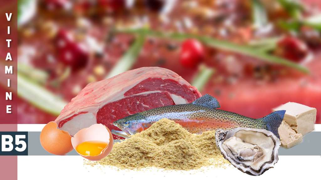 La vitamine B5, présente dans les œufs et le poisson