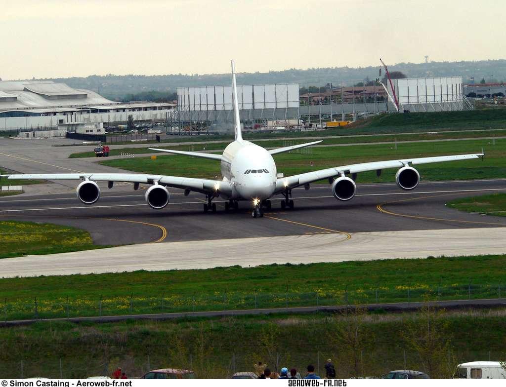 Face à face avec l'Airbus A380