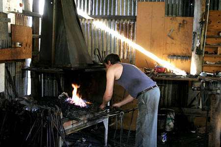 Forge artisanale