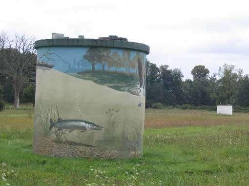 Puit de captage des eaux © CEPA
