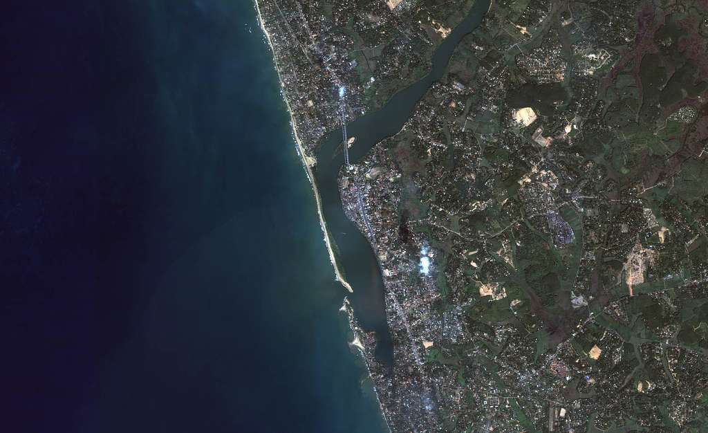 Srilanka - Kalutara : avant le Tsunami
