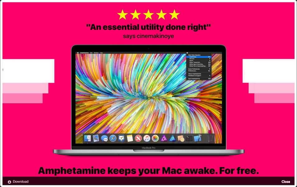 Amphetamine vous permet de définir précisément quand votre Mac peut passer en veille. © William C. Gustafson