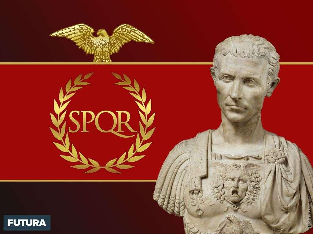 Jules César général et homme politique romain le plus mythique