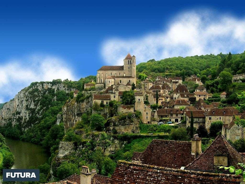 Les plus beaux villages de France : Saint-Cirq-Lapopie, Lot