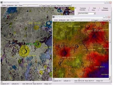 Les géologues apprécieront de découvrir la composition du sol lunaire...
