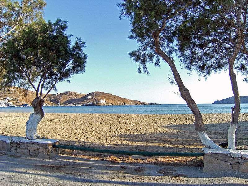 Les plages des Cyclades font partie des plus beaux endroits de Grèce. © Theo77, Wikimedia Commons, CC by-sa 3.0