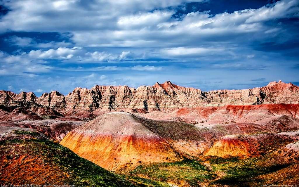 Le parc national des Badlands, dans le Dakota du Sud