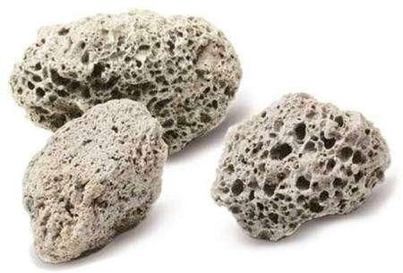 Morceaux de pierre ponce © Bisotherm