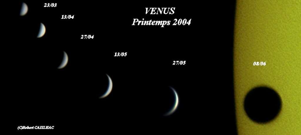 Vénus, Printemps 2004