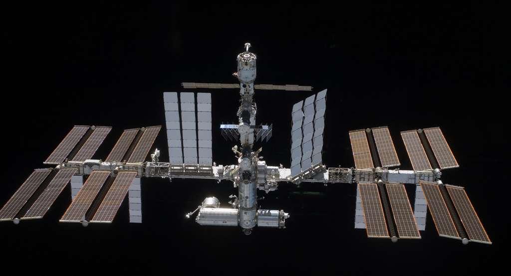 La Station a la fin de la mission STS-119 (mars 2009)