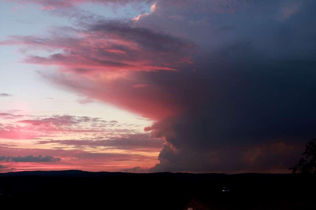 Les nuages sont la manifestation la plus évidente de la convection. © Yves Foucart - Tous droits réservés