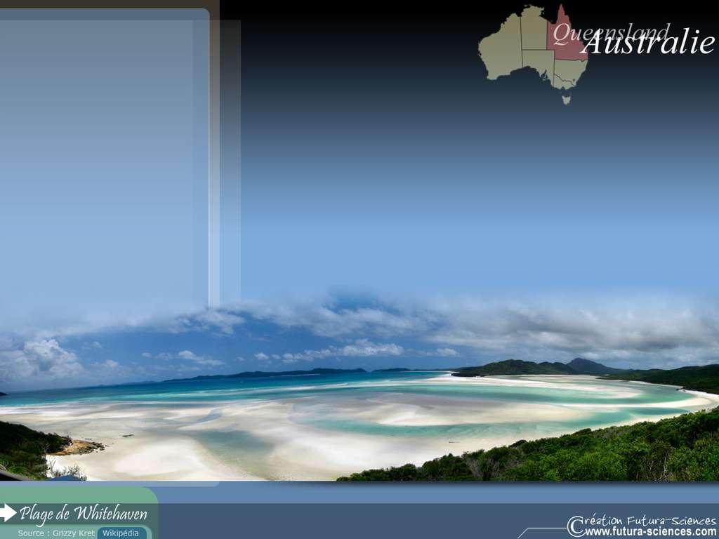 Plage de Whitehaven Australie