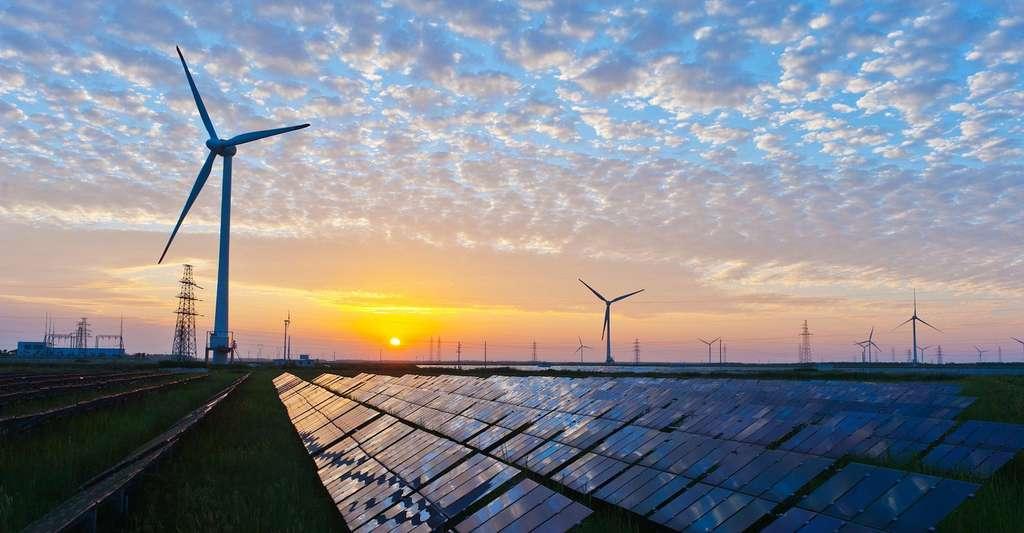 Selon les chercheurs de Harvard, même si c'est dix fois moins que dans le cas des parcs éoliens, la présence de fermes solaires fait également localement monter les températures au sol. © Kenueone, Pixabay, CC0 Creative Commons