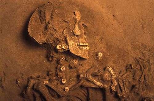La sépulture de la Dame de Caissargues, dans le Gard