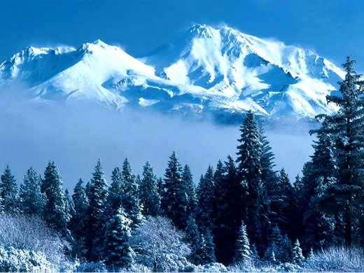 Glacier de montagne. © DR, reproduction et utilisation interdites