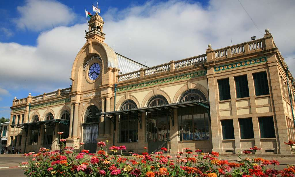 Gare de Tananarive ou Antananarivo