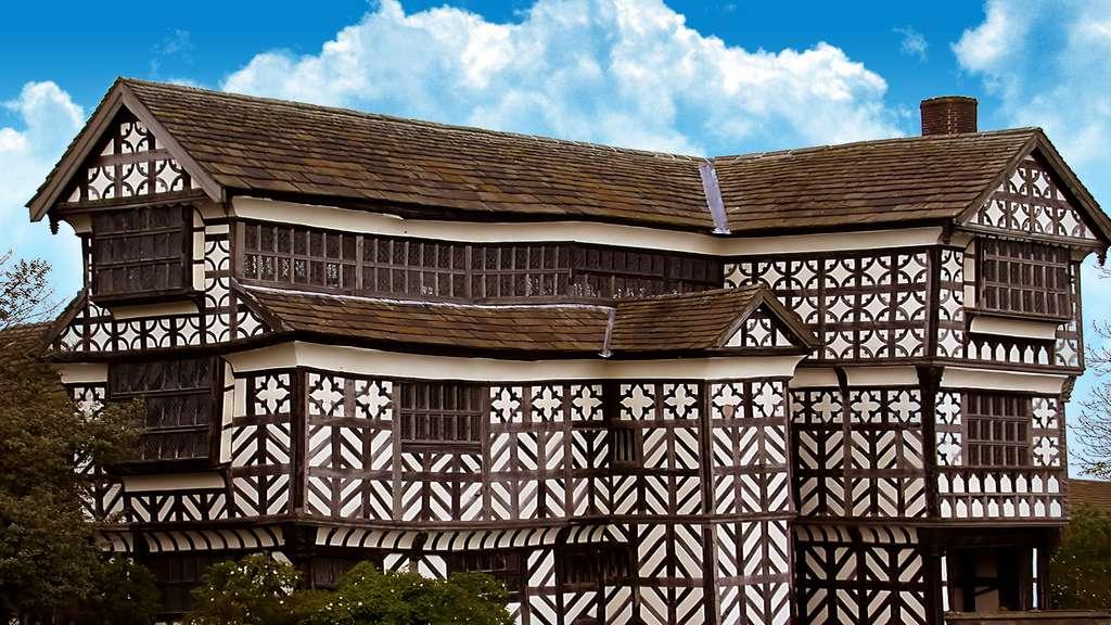 Le Little Moreton Hall, typique de l'époque élizabéthaine